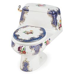 234 Blue Floral Chinoiserie