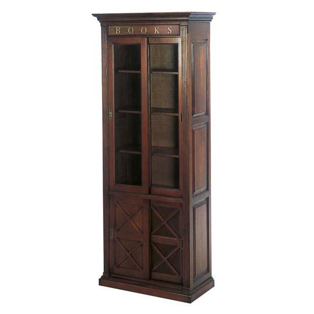 Книжный шкаф из массива красного дерев, eichholtz - мебель м.