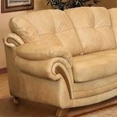 Модель Трёхместный кожаный диван Дженни на 360.ru: цены, описание, характеристики, где купить в Москве