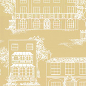  50s Line Papers Hampstead Yellow Apple,  Little Greene   &laquo;&raquo;  360.ru