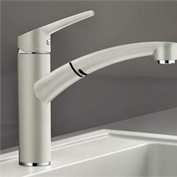 Смеситель для кухни с поворотным изливом купить напольная в ванную комнату