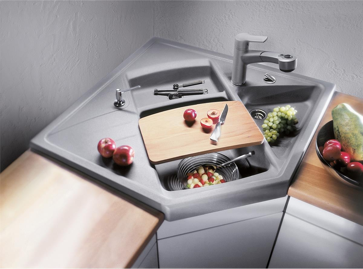 Угловая тумба для кухни