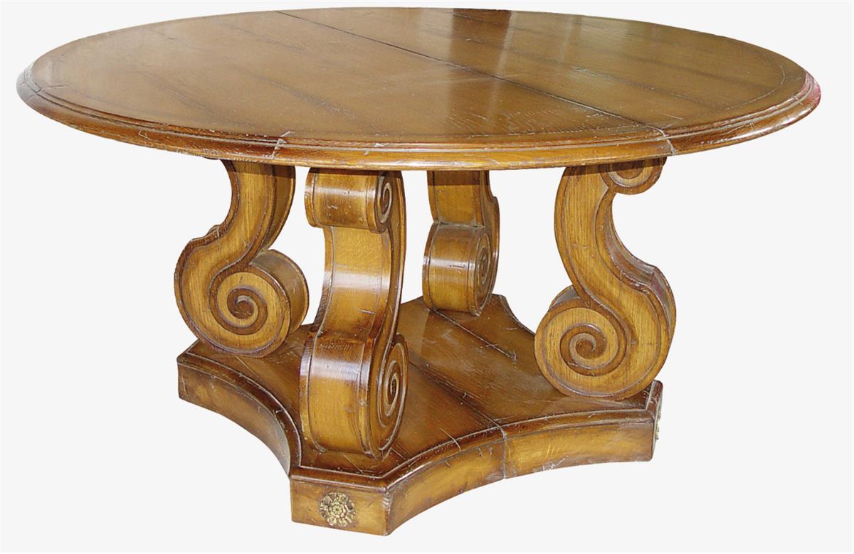 """707A ROUND """"Baroque"""" TABLE - на 360.ru: цены, описание, характеристики, где купить в Москве."""