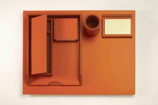 Smooth leather desk set 02 - на 360.ru: цены, описание, характеристики, где купить в Москве.