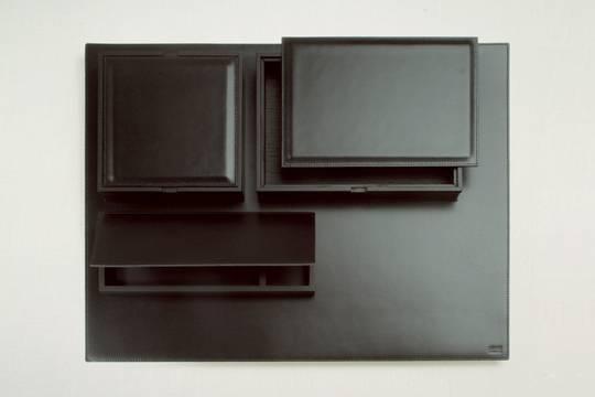 Smooth leather desk set 03 - на 360.ru: цены, описание, характеристики, где купить в Москве.