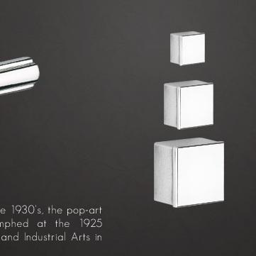 Art Deco knob - на 360.ru: цены, описание, характеристики, где купить в Москве.