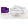 Coupole Bleue armchair - на 360.ru: цены, описание, характеристики, где купить в Москве.