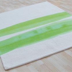 Brush Stroke Green