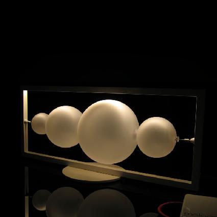 Moon LED table lamp - на 360.ru: цены, описание, характеристики, где купить в Москве.