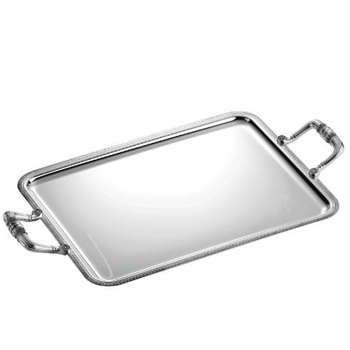 Rectangular tray with handles - на 360.ru: цены, описание, характеристики, где купить в Москве.