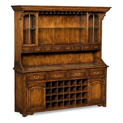 493365 Walnut Dresser for Drinks Storage