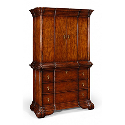 492830 Dutch Style TV Cabinet with Drawer Base