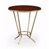 494076 Leather Top & Gilt Side Table - на 360.ru: цены, описание, характеристики, где купить в Москве.