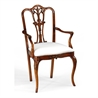 492474 Mahogany 18th Century Style Dining Chair (Arm) - на 360.ru: цены, описание, характеристики, где купить в Москве.
