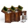 492781 Triple Decanter Set in Conjoined Square Cases - на 360.ru: цены, описание, характеристики, где купить в Москве.