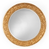 493104 Large Circular Gilded Mirror - на 360.ru: цены, описание, характеристики, где купить в Москве.