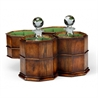 492981 Pair of Decanters in Conjoined Octagonal Walnut Case - на 360.ru: цены, описание, характеристики, где купить в Москве.