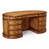 493013 Walnut Kidney Pedestal Desk - на 360.ru: цены, описание, характеристики, где купить в Москве.