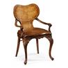 492999 George I Style Walnut Kidney Desk Chair - на 360.ru: цены, описание, характеристики, где купить в Москве.