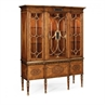 492437 Satinwood display cabinet with eglomise details - на 360.ru: цены, описание, характеристики, где купить в Москве.