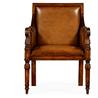 492626 Leather Bergère Chair - на 360.ru: цены, описание, характеристики, где купить в Москве.
