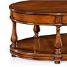 492959 Large oval walnut coffee table - на 360.ru: цены, описание, характеристики, где купить в Москве.