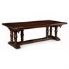 493379 Elizabethan dark oak extending dining table - на 360.ru: цены, описание, характеристики, где купить в Москве.