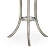 494077-S Eglomise & silver iron round wine table - на 360.ru: цены, описание, характеристики, где купить в Москве.