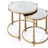 494141-G Églomisé & gilded iron nest of two tables - на 360.ru: цены, описание, характеристики, где купить в Москве.