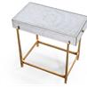 494185-G Églomisé & gilded iron box top side table - на 360.ru: цены, описание, характеристики, где купить в Москве.