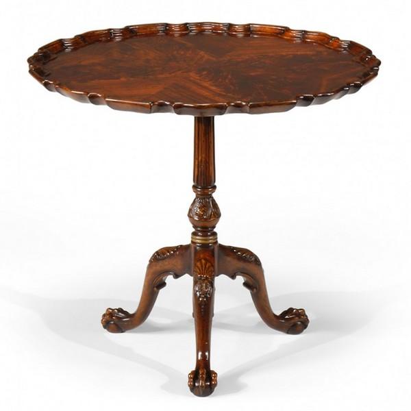 """492402 Piecrust Side Table (33"""") - на 360.ru: цены, описание, характеристики, где купить в Москве."""