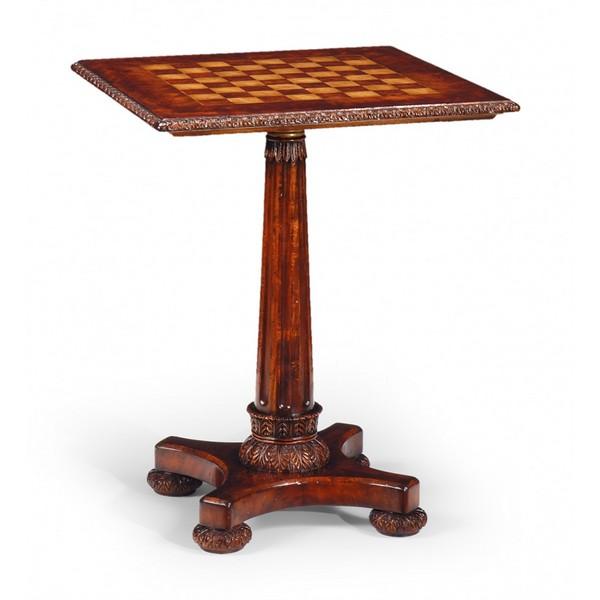 492814 William IV Pedestal Games Table - на 360.ru: цены, описание, характеристики, где купить в Москве.