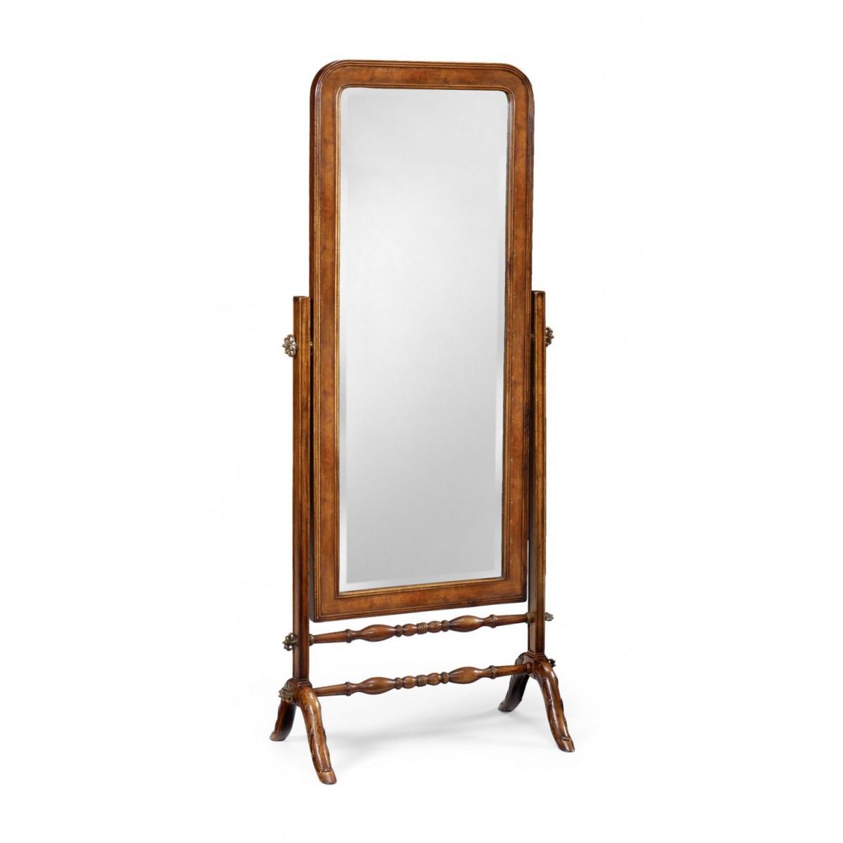 492393 Satinwood cheval mirror (Full length) - на 360.ru: цены, описание, характеристики, где купить в Москве.