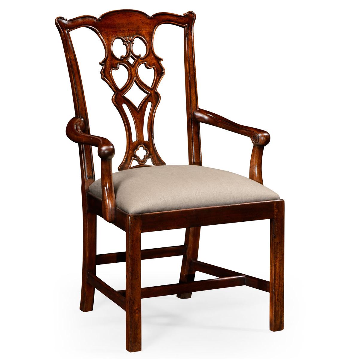 493331 Chippendale style classic mahogany armchair - на 360.ru: цены, описание, характеристики, где купить в Москве.