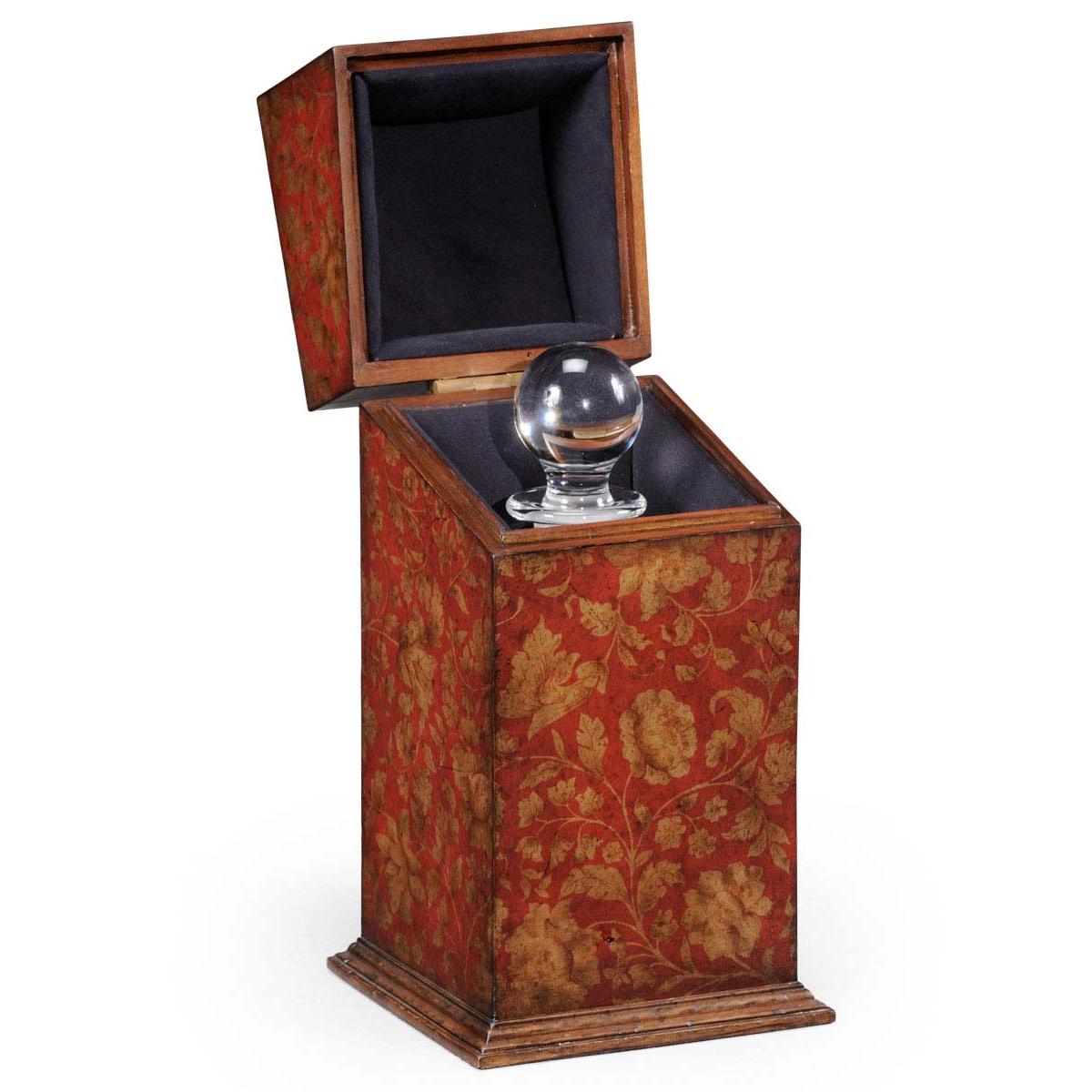 494068 Red decanter Chinoiserie case - на 360.ru: цены, описание, характеристики, где купить в Москве.