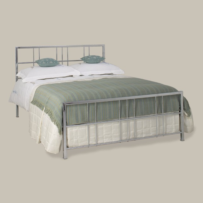 Tain Chrome Bed / Leather Bedstead - на 360.ru: цены, описание, характеристики, где купить в Москве.