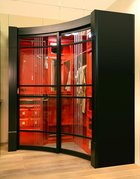 Радиусная гардеробная Red - на 360.ru: цены, описание, характеристики, где купить в Москве.