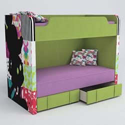 Микки двухуровневый диван для модных тинейджеров