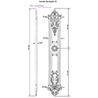 Aurelia Lever & Backplate B 39,5cm - на 360.ru: цены, описание, характеристики, где купить в Москве.
