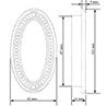 Eastwell Manor Recessed Pocket Pull, 102 mm - на 360.ru: цены, описание, характеристики, где купить в Москве.