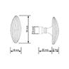Chartres Cabinet Knob - на 360.ru: цены, описание, характеристики, где купить в Москве.