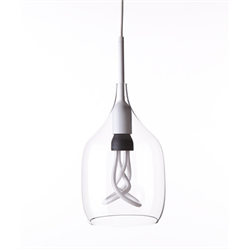 Vessel 1 lamp shade - Clear glass