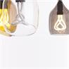 Vessel 2 lamp shade -Diagonal cut - Bronze glass - на 360.ru: цены, описание, характеристики, где купить в Москве.