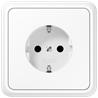CD500 socket plastic white - на 360.ru: цены, описание, характеристики, где купить в Москве.