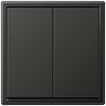 LS 990 2-gang-switch anthracite  - на 360.ru: цены, описание, характеристики, где купить в Москве.