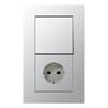 LS plus switch-socket aluminium - на 360.ru: цены, описание, характеристики, где купить в Москве.