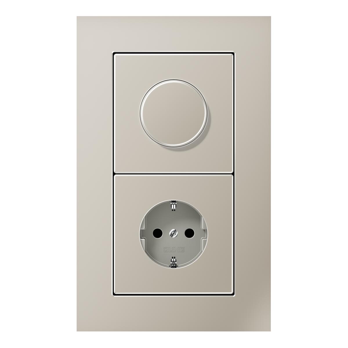 LS plus dimmer-socket stainless-steel - на 360.ru: цены, описание, характеристики, где купить в Москве.