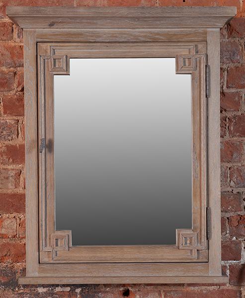 Vintage White Oak Bath Mirror - на 360.ru: цены, описание, характеристики, где купить в Москве.