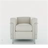 LC2 armchair - на 360.ru: цены, описание, характеристики, где купить в Москве.