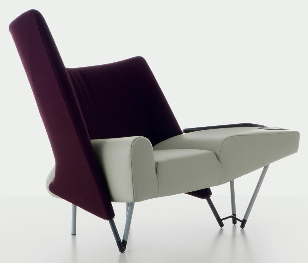 654 Torso armchair with footrest - на 360.ru: цены, описание, характеристики, где купить в Москве.